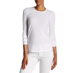 New James Perse Long Sleeve Crew Neck Tee Size 3
